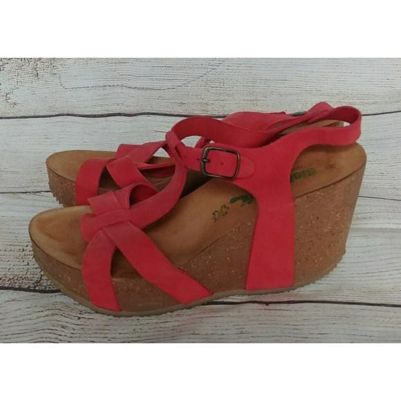 e9f4bdd384ad bio natural Shoes - Bionatural cork wedge sandals